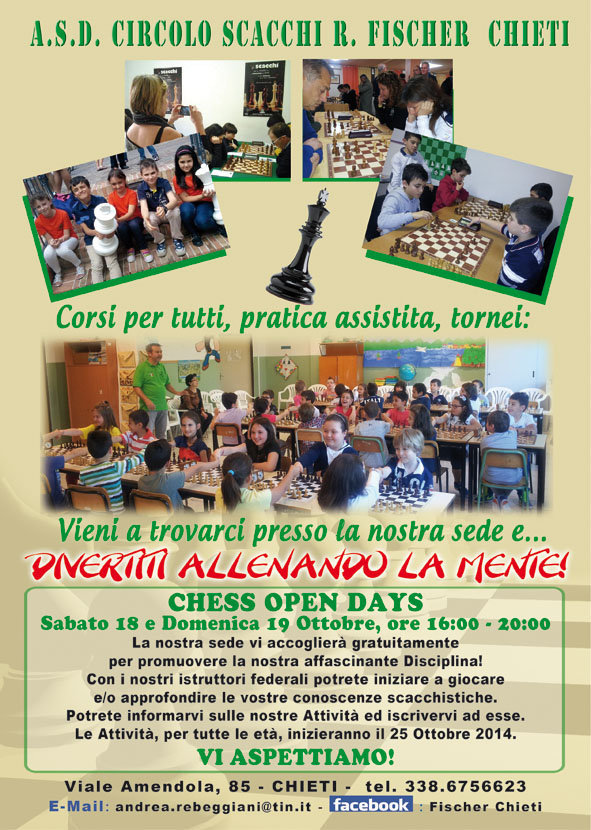 Chess Open Days 2014